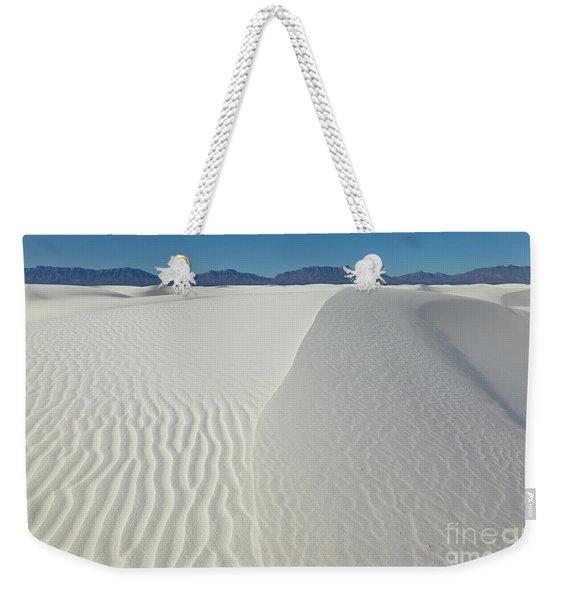 White Sands Gypsum Dunes Weekender Tote Bag