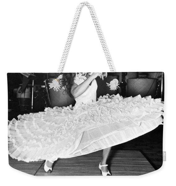 Gypsy Dancer Carmen Amaya Weekender Tote Bag