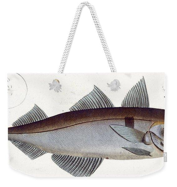 Haddock Weekender Tote Bag
