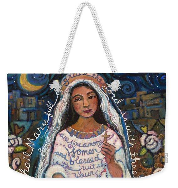 Hail Mary Weekender Tote Bag