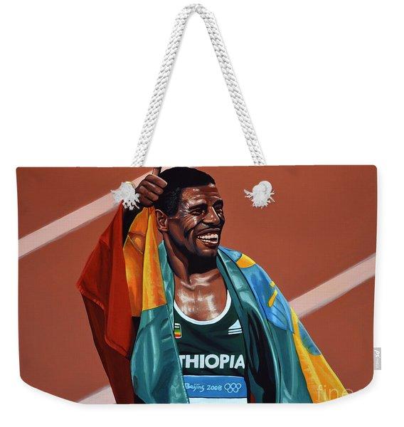 Haile Gebrselassie Weekender Tote Bag