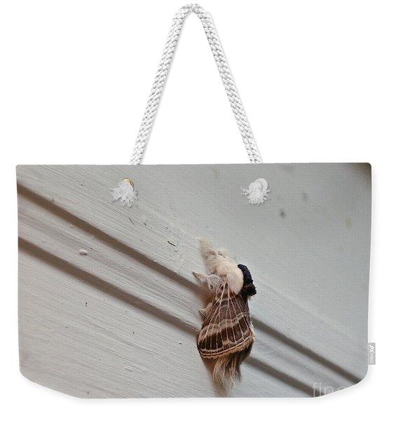 Hairy Russian Moth Weekender Tote Bag