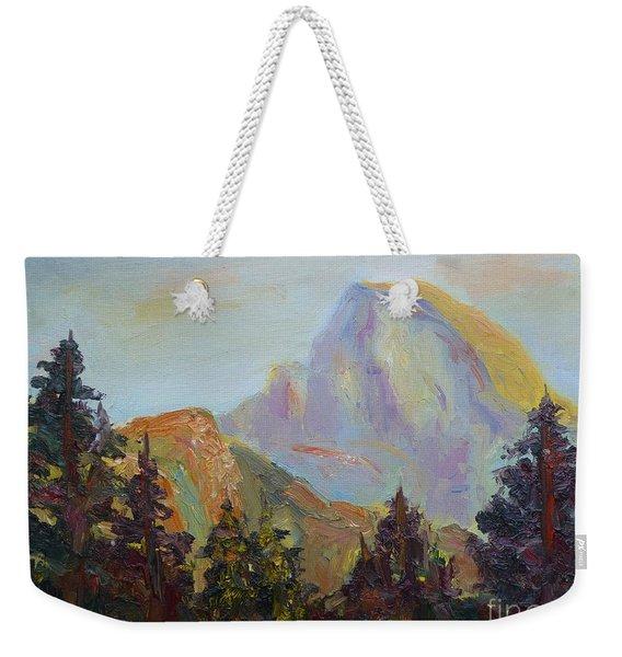 Half Dome View Weekender Tote Bag