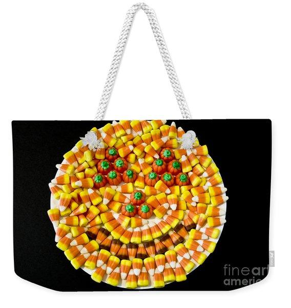 Halloween Candy Weekender Tote Bag