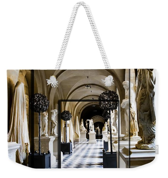 Halls Of Versailles Paris Weekender Tote Bag
