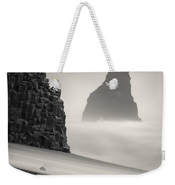 Halsenifs Hellir Sea Stack Weekender Tote Bag