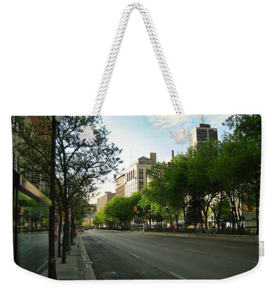 Hamilton At Dawn Weekender Tote Bag