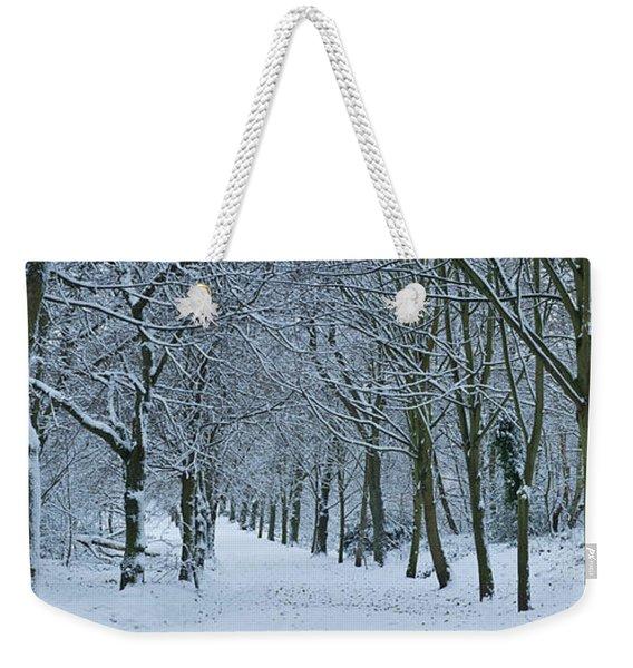 Hampstead Heath In Winter, North Weekender Tote Bag