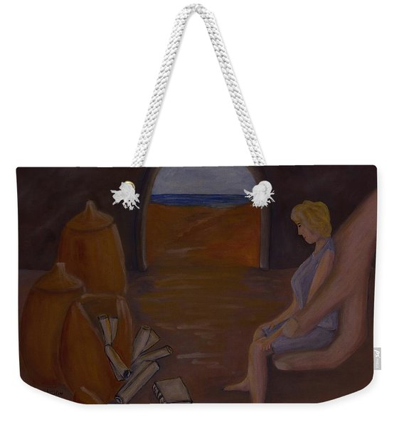 Hand In The Treasure Weekender Tote Bag