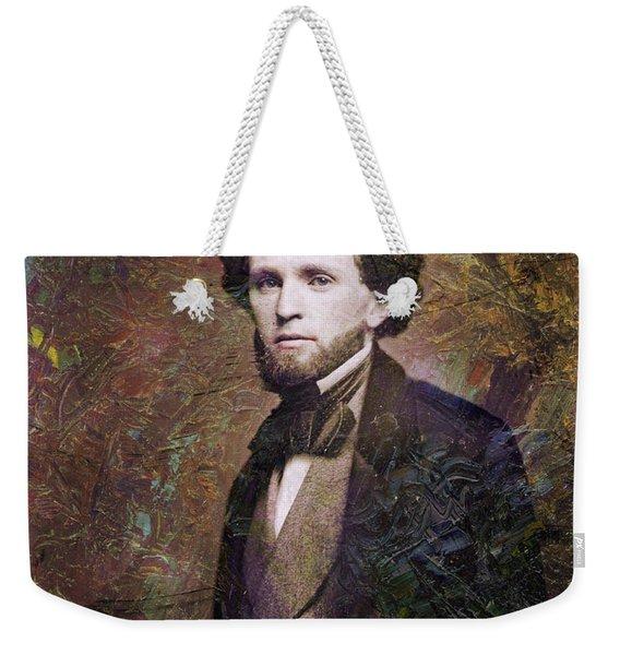 Handsome Fellow 3 Weekender Tote Bag