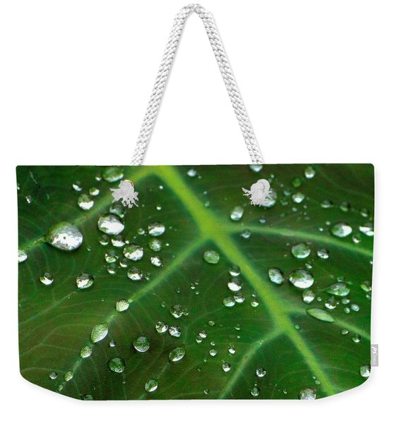 Hanging Droplets Weekender Tote Bag