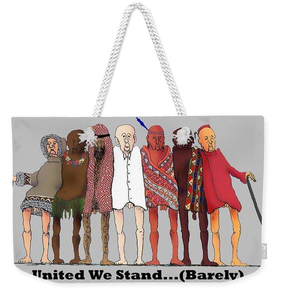 Nous Sommes Charlie Weekender Tote Bag