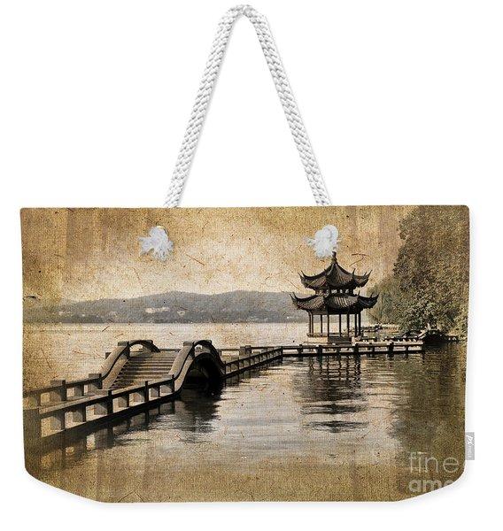 Hangzhou Lake Weekender Tote Bag