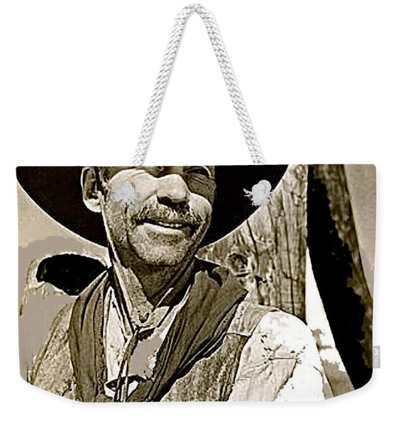 Hank Worden Publicity Photo Red River 1948-2013 Weekender Tote Bag