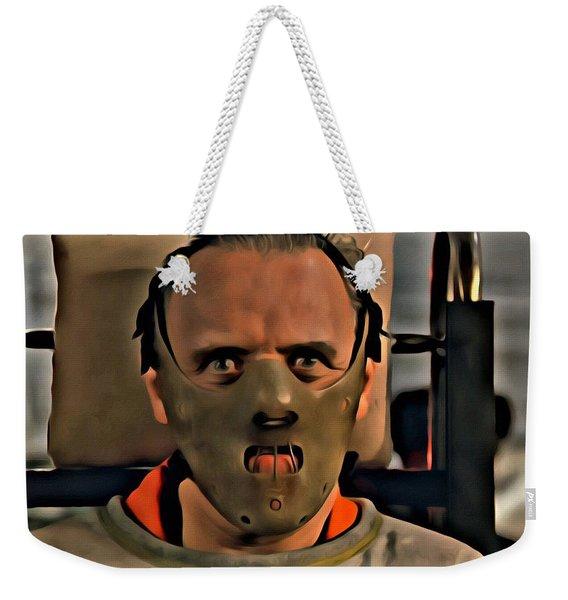Hannibal Lecter Weekender Tote Bag