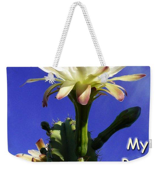 Happy Birthday Card And Print 14 Weekender Tote Bag