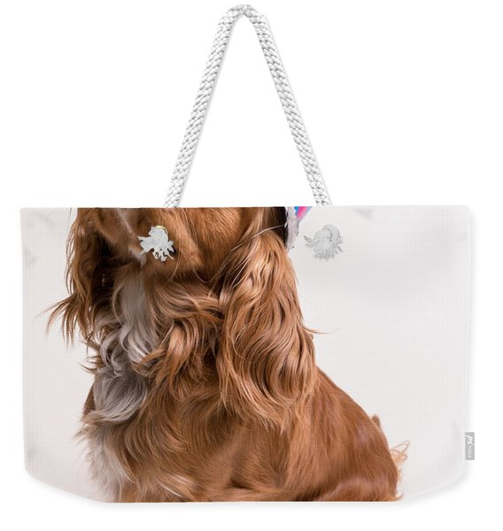 Happy Birthday Dog Weekender Tote Bag