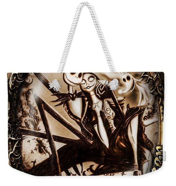 Happy Halloween IIi Sepia Version Weekender Tote Bag