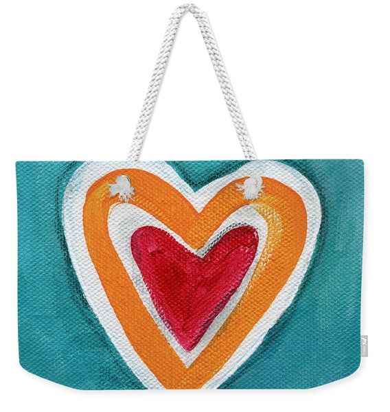 Happy Love Weekender Tote Bag