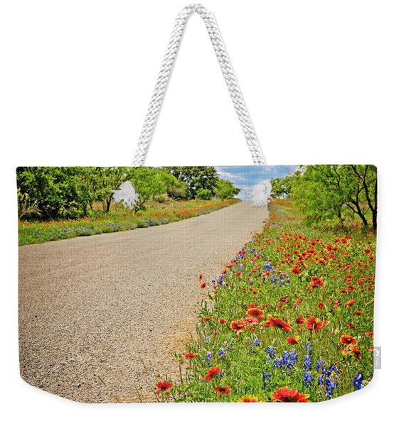 Happy Road Weekender Tote Bag
