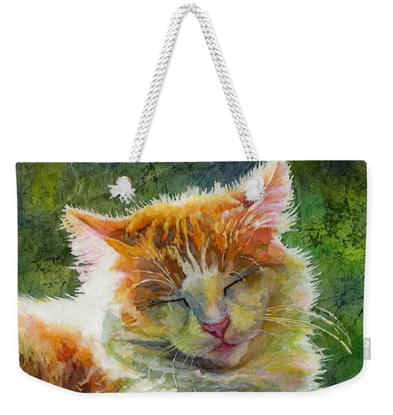Happy Sunbathing 2 Weekender Tote Bag