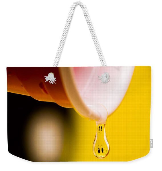 Pour Me Some Happy Weekender Tote Bag