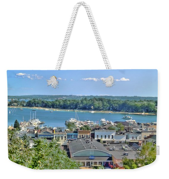 Harbor Springs Michigan Weekender Tote Bag