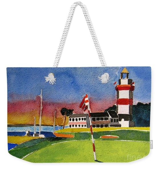 Harbour Town 18th Sc Weekender Tote Bag