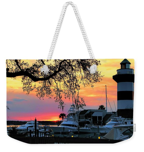 Harbour Town Sundown Weekender Tote Bag