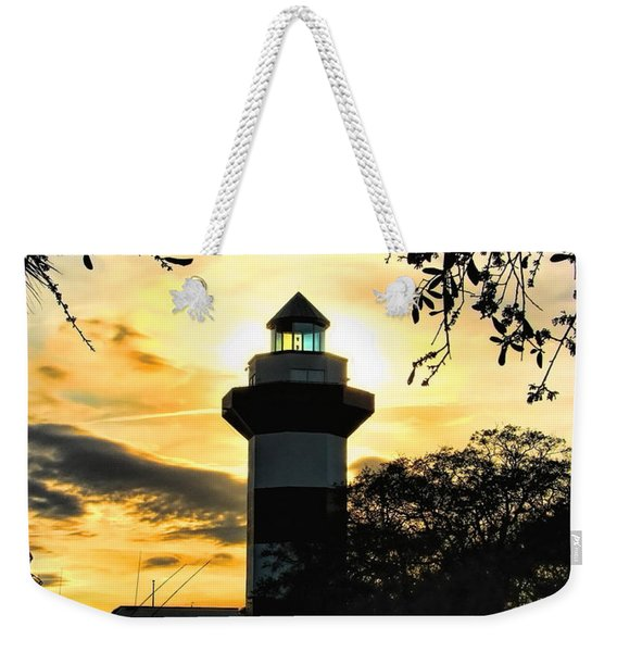 Harbour Town Lighthouse Beacon Weekender Tote Bag