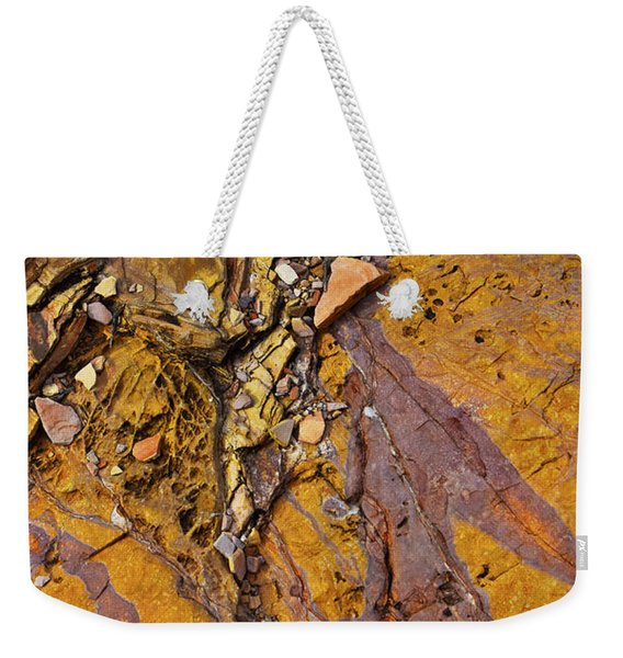 Weekender Tote Bag featuring the photograph Hard Candy by Skip Hunt