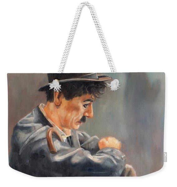 Hard Times Weekender Tote Bag