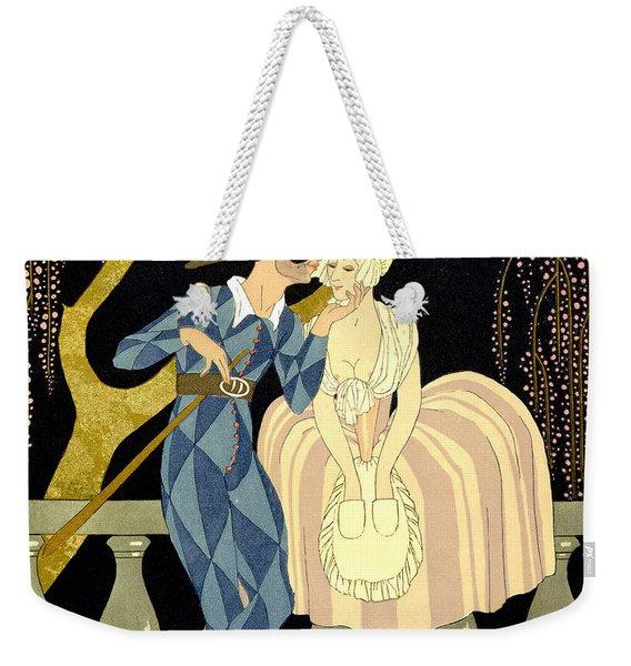 Harlequin's Kiss Weekender Tote Bag