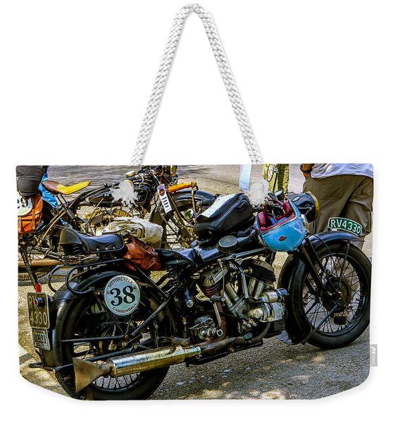 Harleys And Indians Weekender Tote Bag