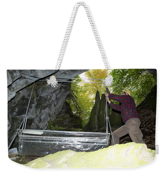 Harp Trap To Capture And Study Bats Weekender Tote Bag