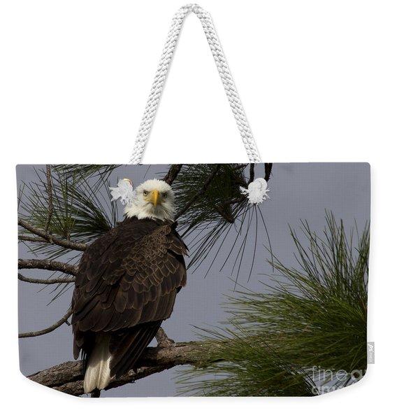 Harriet The Bald Eagle Weekender Tote Bag