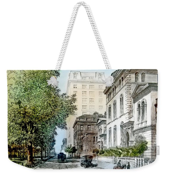 Harrison Residence East Rittenhouse Square Philadelphia C 1890 Weekender Tote Bag