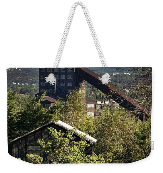 Harry E Colliery Swoyersville Pa Summer 1994 Weekender Tote Bag