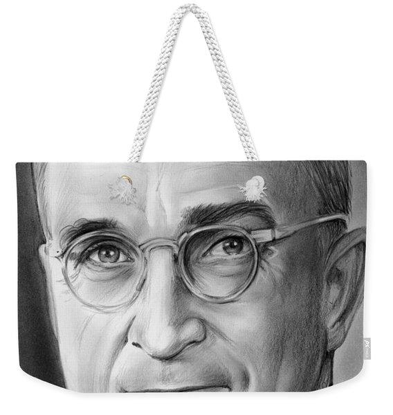 Harry S. Truman Weekender Tote Bag