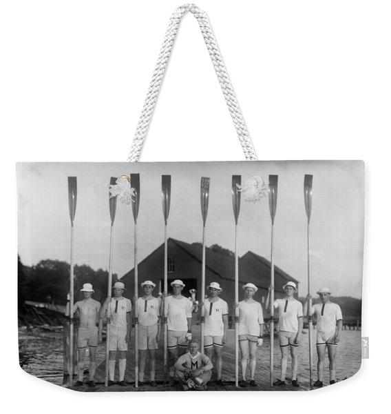 Harvard 2d Varsity 8  1915 Weekender Tote Bag