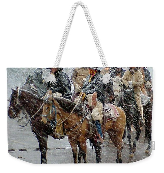 Hashknife Pony Express Weekender Tote Bag