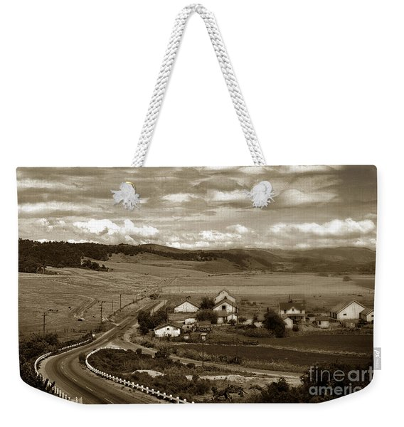 Hatton Ranch Carmel Valley From Highway One California  1940 Weekender Tote Bag