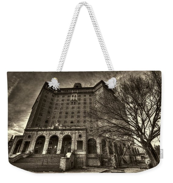 Haunted Baker Hotel Weekender Tote Bag