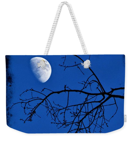Weekender Tote Bag featuring the photograph Haunted by Jemmy Archer