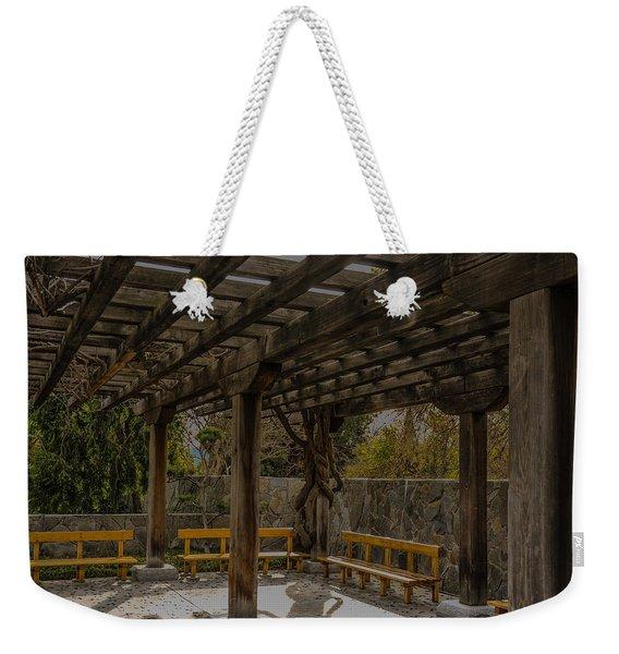 Have A Seat Weekender Tote Bag