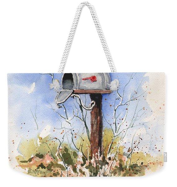 Havlik's Mailbox Weekender Tote Bag