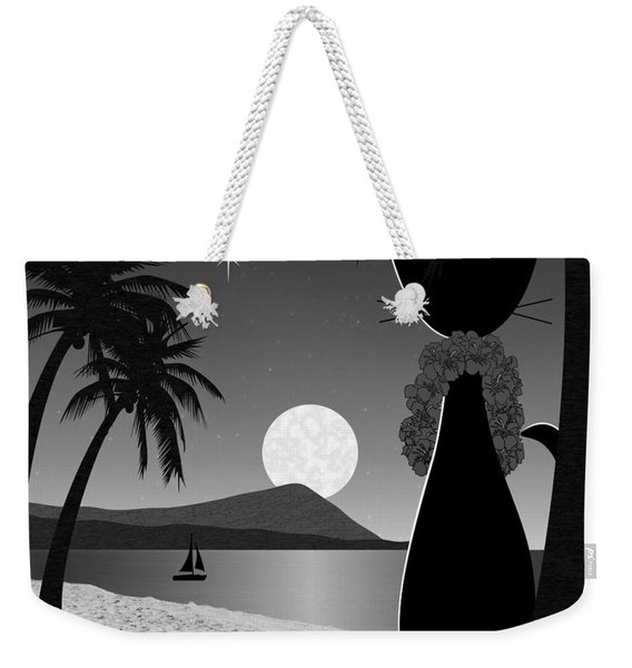 Weekender Tote Bag featuring the digital art Hawaii by Donna Mibus