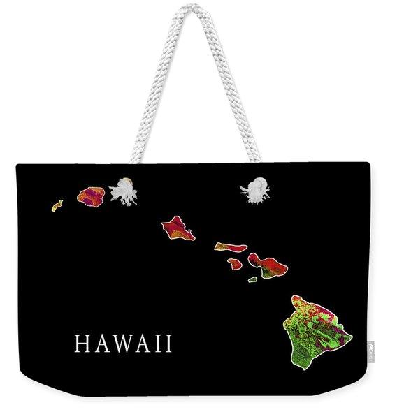 Hawaii State Weekender Tote Bag