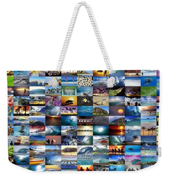 One Hawaiian Mixed Plate Weekender Tote Bag