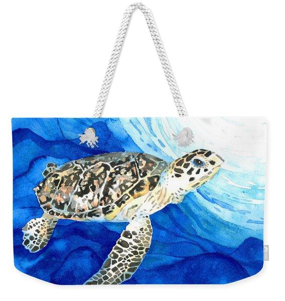 Hawksbill Sea Turtle 2 Weekender Tote Bag